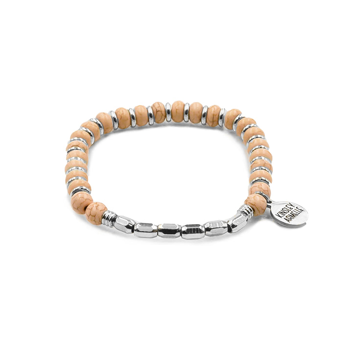 Phoebe Collection - Silver Sherbet Bracelet