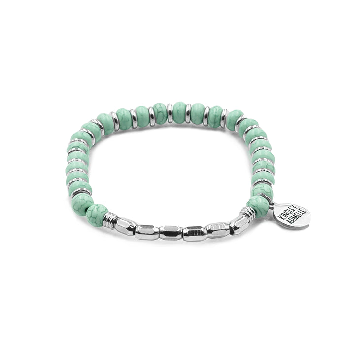 Phoebe Collection - Silver Turquoise Bracelet