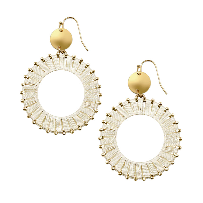 Pinnie Collection - Khaki Earrings