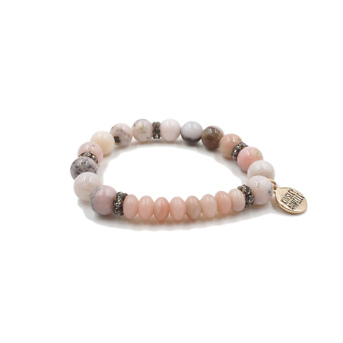 Rainey Collection - Pink Lady Bracelet - Kinsley Armelle