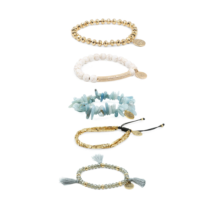 Rainwashed Bracelet Stack
