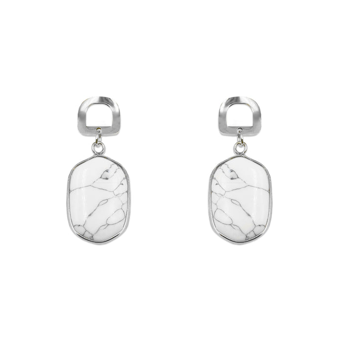 Rayna Collection - Silver Pepper Earrings