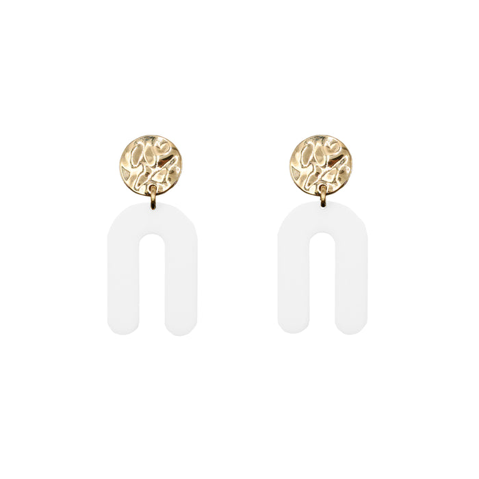 Rayne Collection - Ashen Earrings