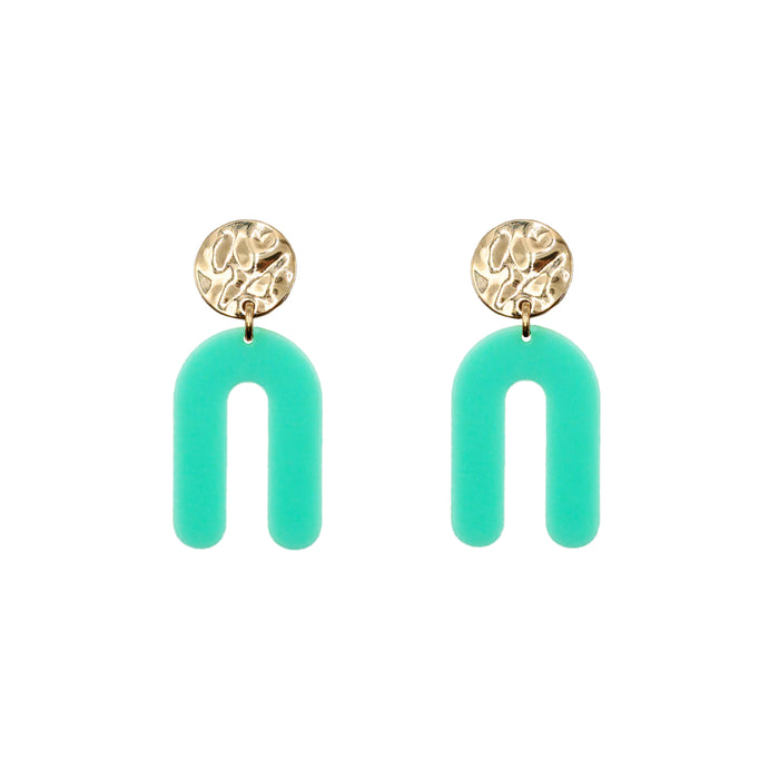 Rayne Collection - Mint Earrings