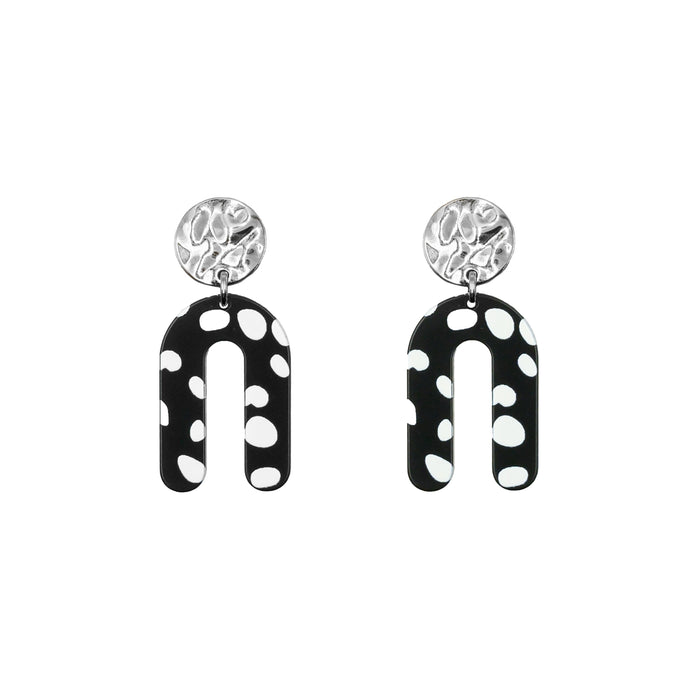Rayne Collection - Silver Jane Earrings