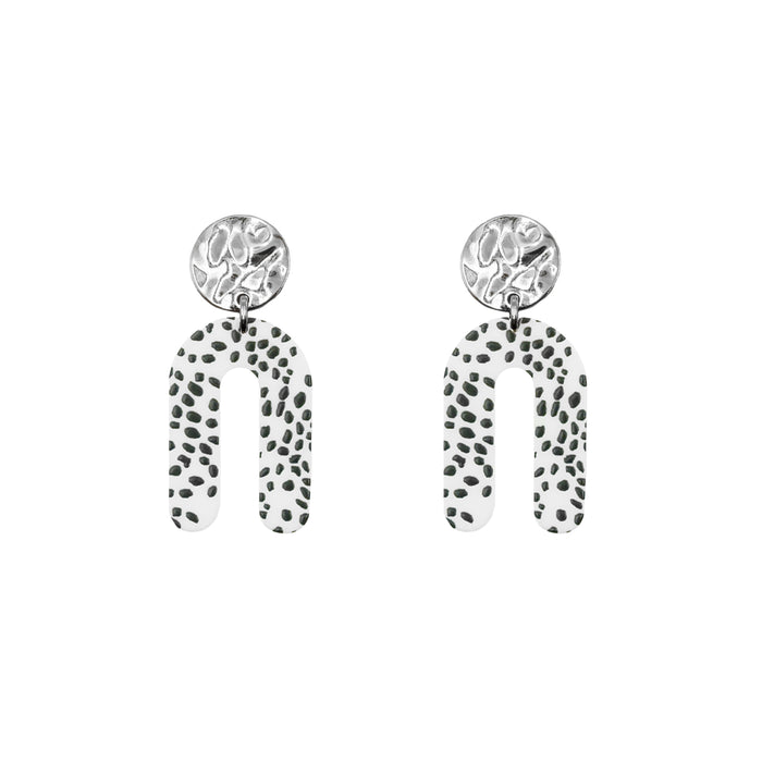 Rayne Collection - Silver Purdy Earrings