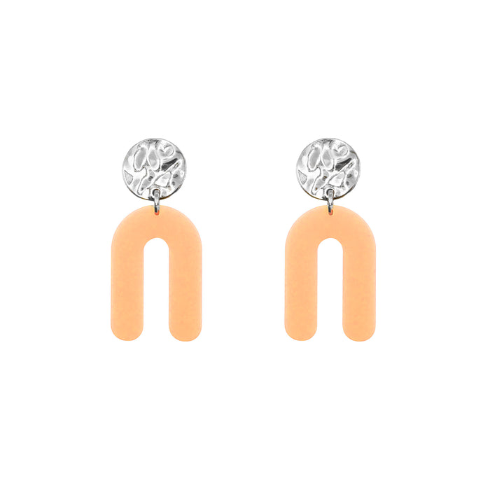 Rayne Collection - Silver Sherbet Earrings