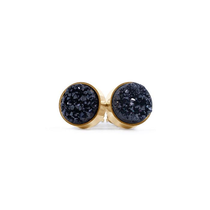 Regal Collection - Raven Stud Earrings