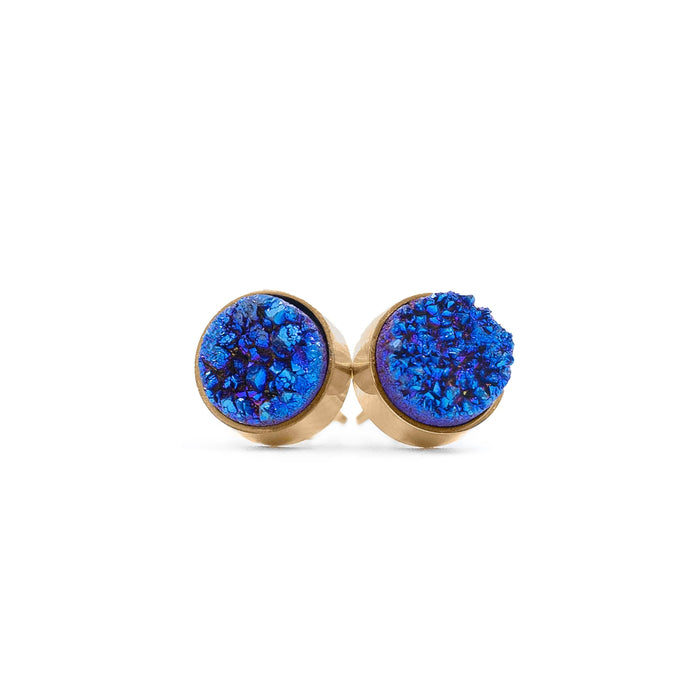 Regal Collection - Ondine Blue Stud Earrings