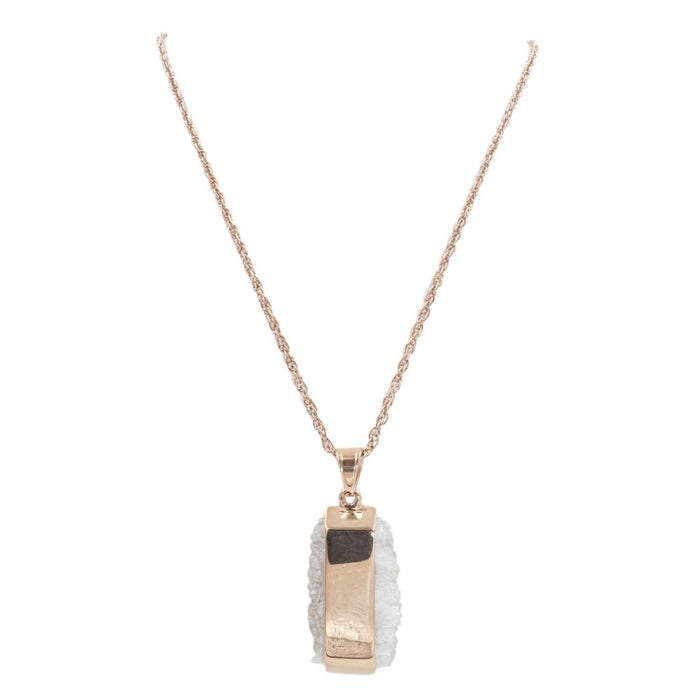 Bangle Collection - Rose Gold Quartz Necklace - Kinsley Armelle