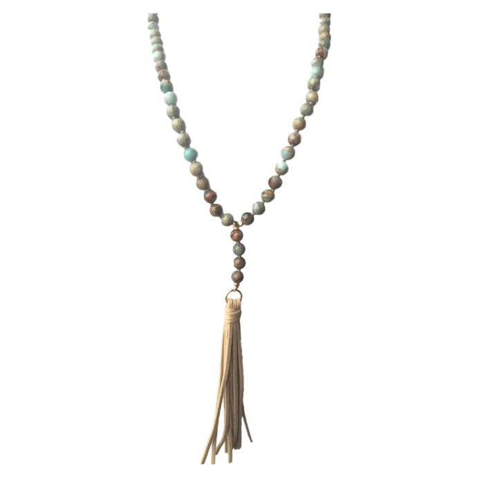 Tassel Collection - Timber Necklace - Kinsley Armelle