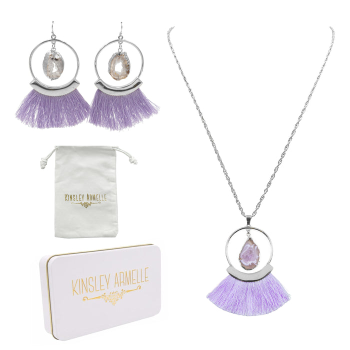 Silver Royal Fringe Gift Set
