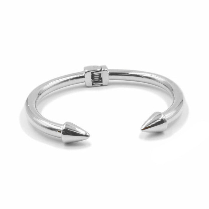 Spike Collection - Silver Bracelet