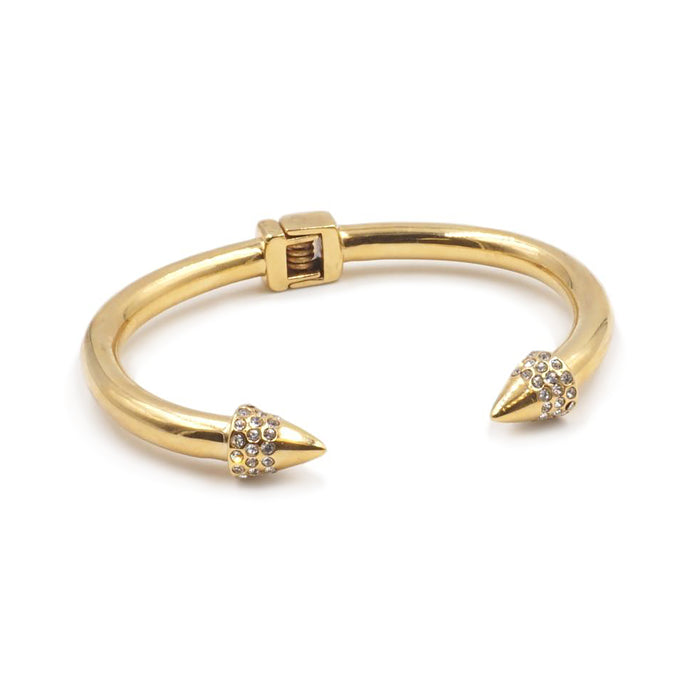 Spike Collection - Gold Bling Bracelet