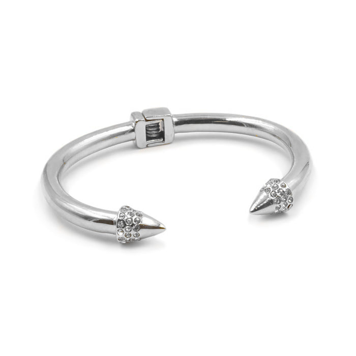 Spike Collection - Silver Bling Bracelet