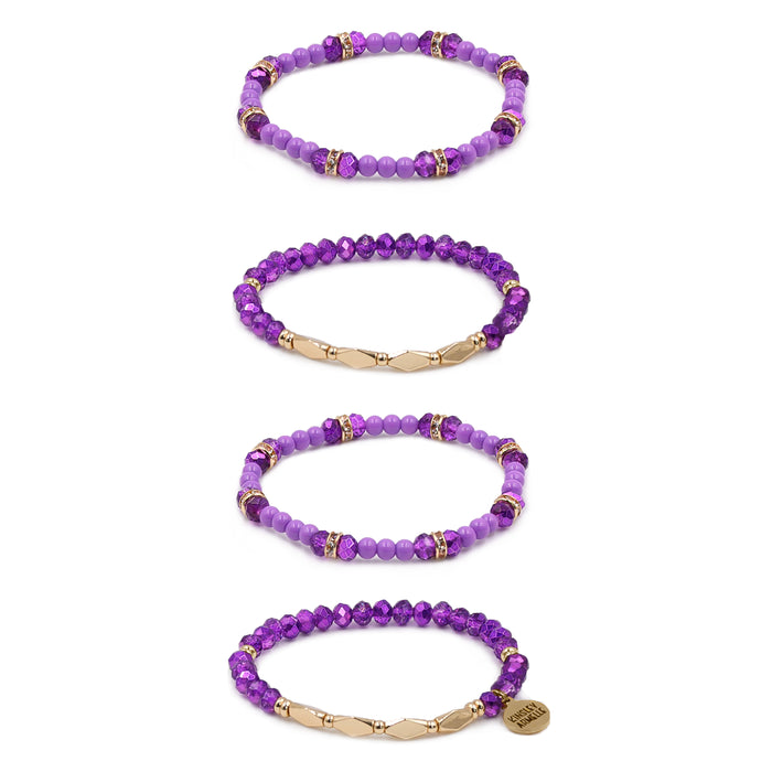 Stacked Collection - Aster Bracelet Set