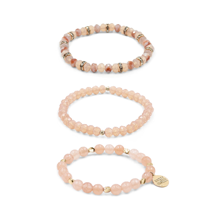 Stacked Collection - Blossom Bracelet Set