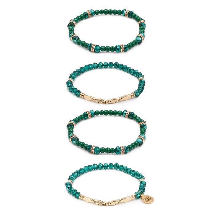 Stacked Collection - Jade Bracelet Set