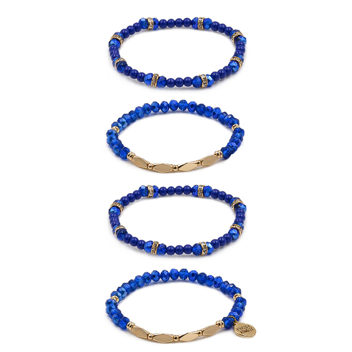 Stacked Collection - Ondine Blue Bracelet Set