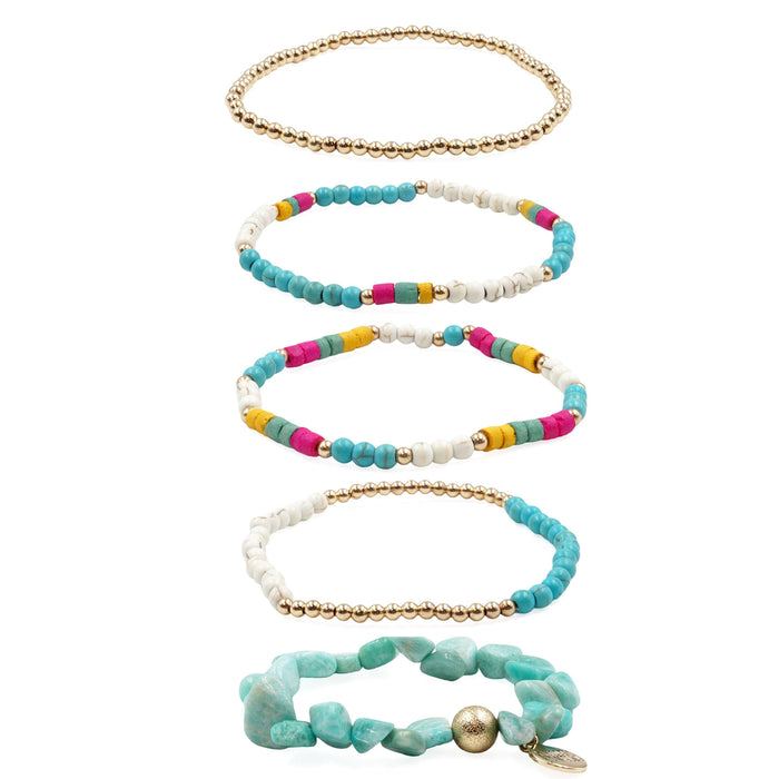 Stacked Collection - Baja Bracelet Set