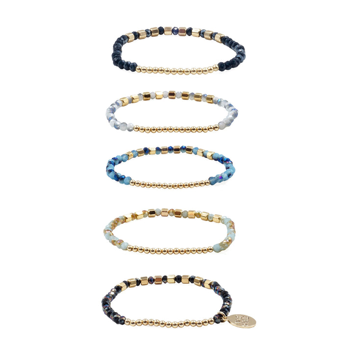 Stacked Collection - Liberty Bracelet Set