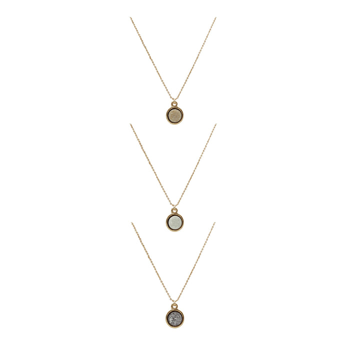 Stone Collection - Quartz Necklace Set