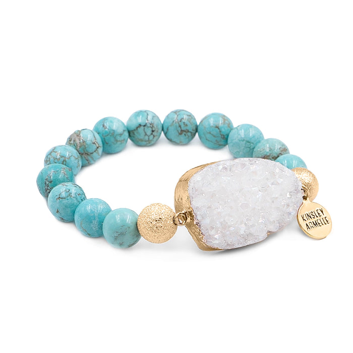Stone Collection - Aqua Marine Bracelet