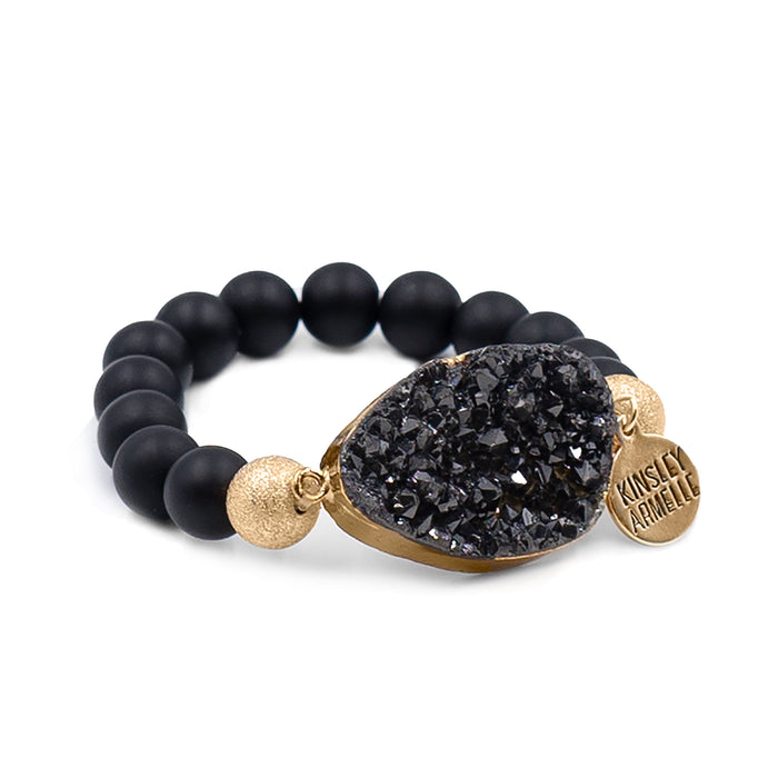 Stone Collection - Coal Bracelet