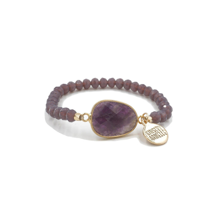 Stone Collection - Lavender Bracelet