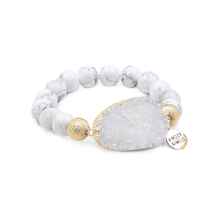 Stone Collection - Pepper Bracelet
