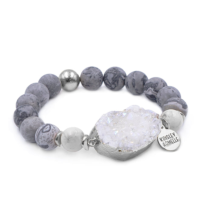 Stone Collection - Silver Dusk Bracelet