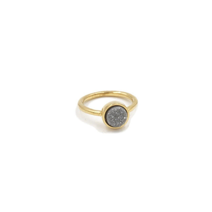 Stone Collection - Slate Quartz Ring