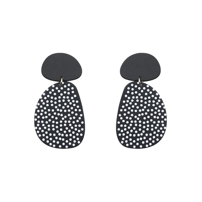 Tango Collection - Silver Dottie Earrings