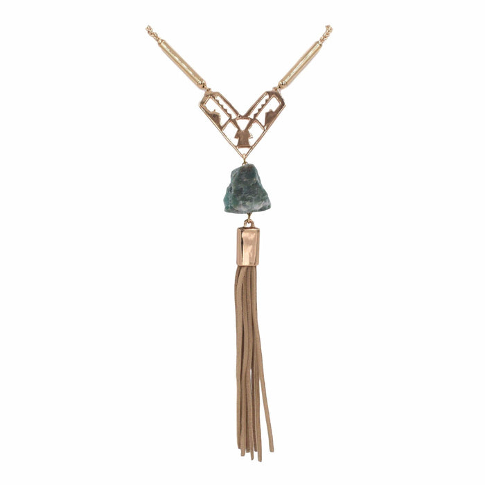 Tassel Collection - Tawny Necklace - Kinsley Armelle