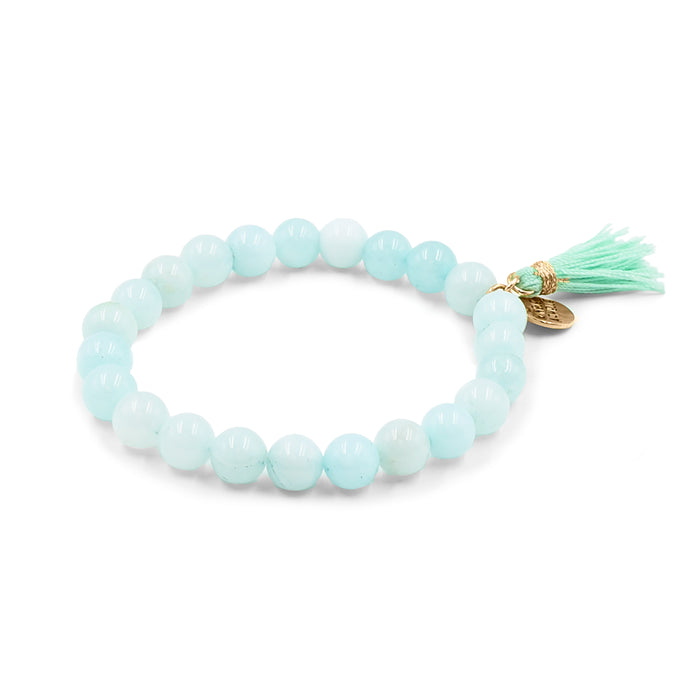 Tassel Collection - Mint Bracelet