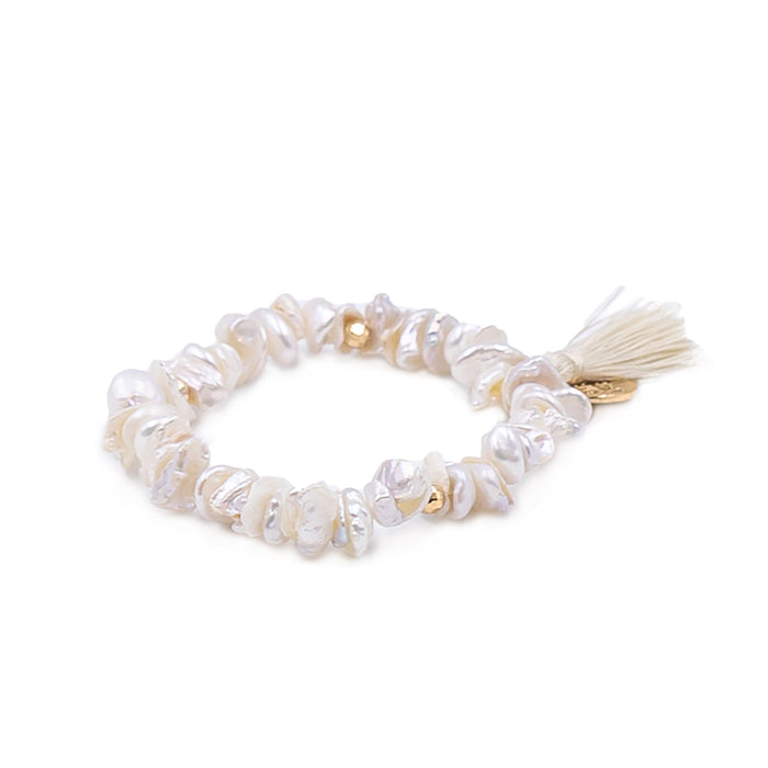 Tassel Collection - Opal Bracelet