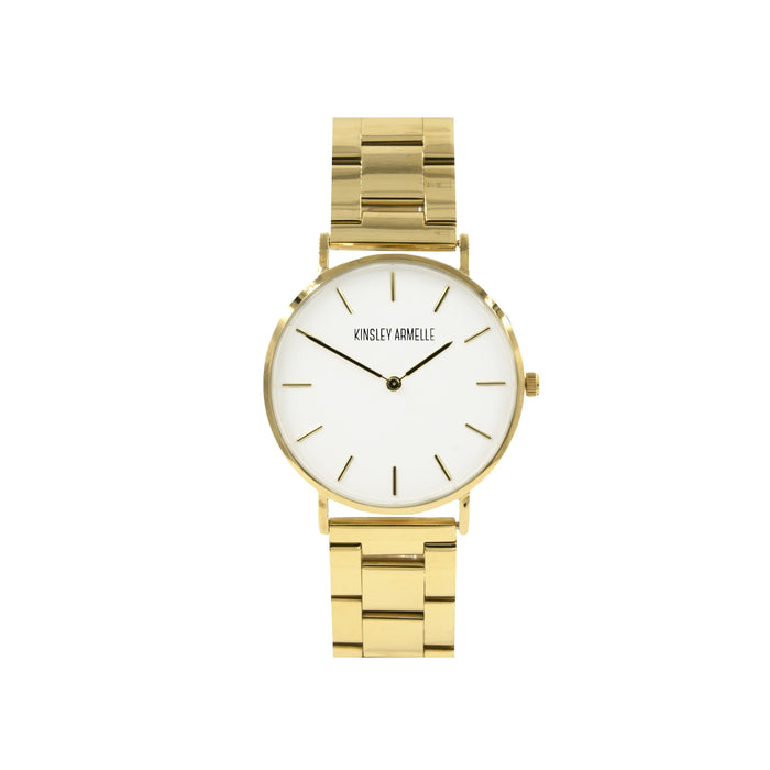 Tempus Collection - Gold Ashen Steel Watch
