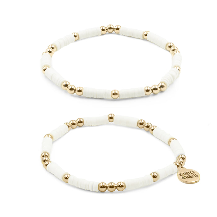 Thora Collection - Ashen Bracelet Set