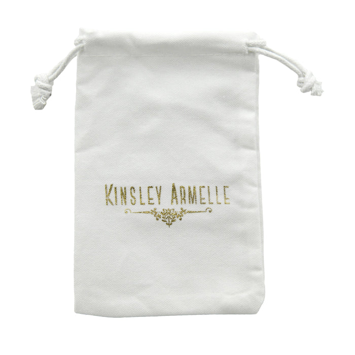 Kinsley Armelle Jewelry Pouch White