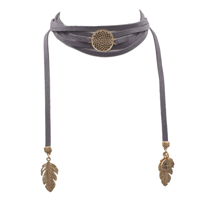 Wrap Collection - Laurel Necklace - Kinsley Armelle
