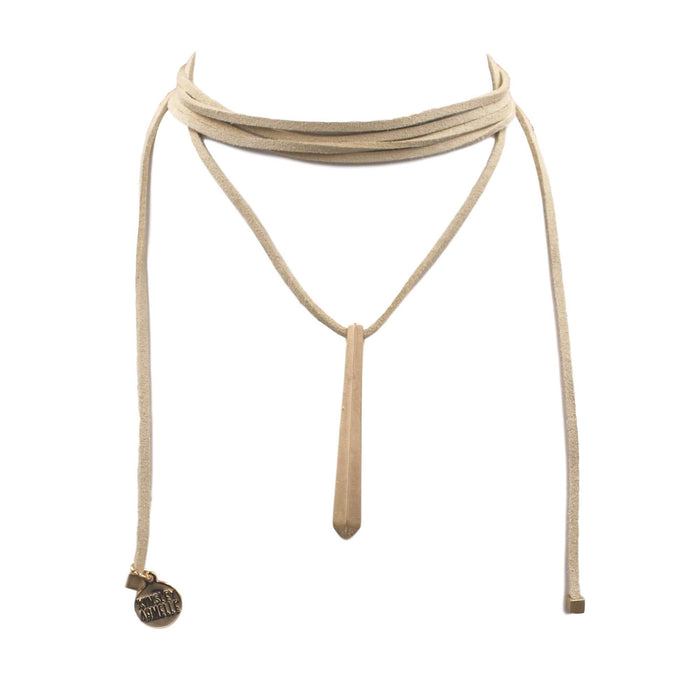 Wrap Collection - Tawny Necklace - Kinsley Armelle