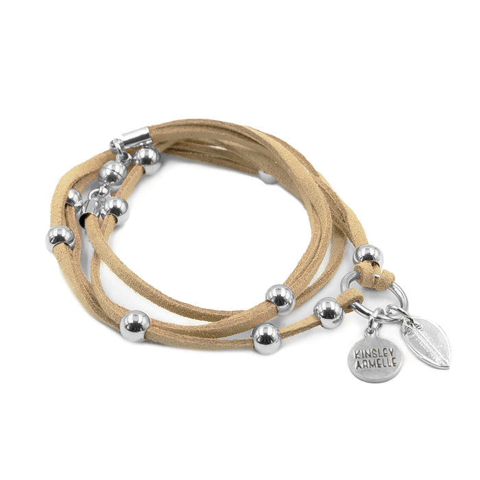 Wrap Collection - Silver Tawny Bracelet
