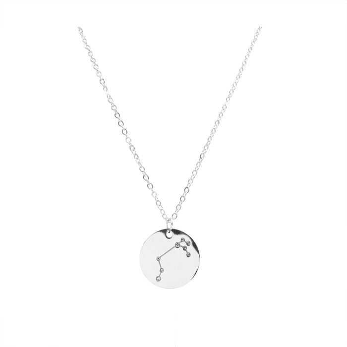 Zodiac Collection - Silver Aries Necklace (Mar 21 - Apr 19)