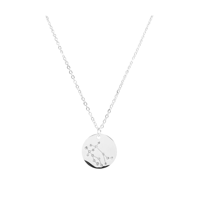 Zodiac Collection - Silver Gemini Necklace (May 21 - June 20)