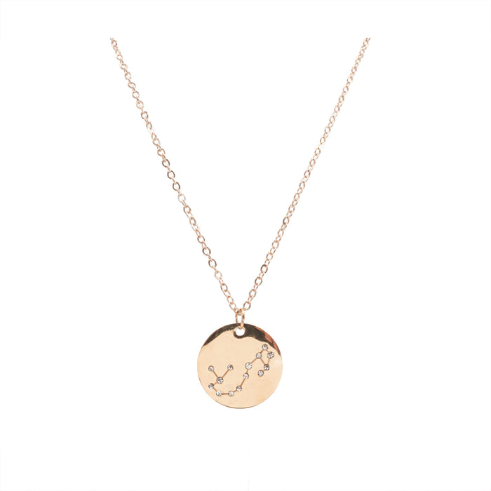 Zodiac Collection - Rose Gold Scorpio Necklace (Oct 23 - Nov 21)