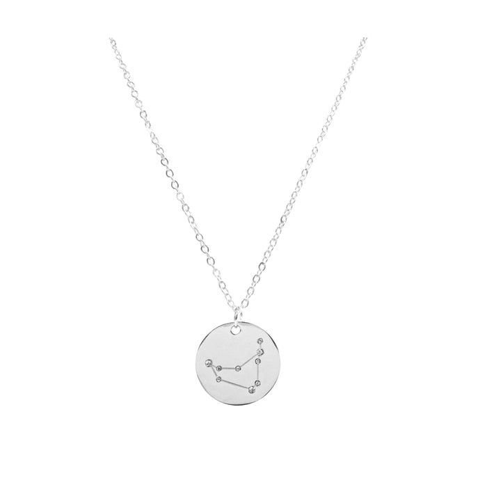 Zodiac Collection - Silver Capricorn Necklace (Dec 22 - Jan 19)