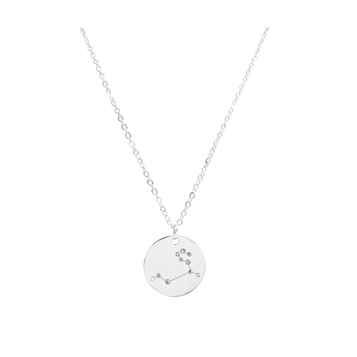 Zodiac Collection - Silver Leo Necklace (July 23 - Aug 22)