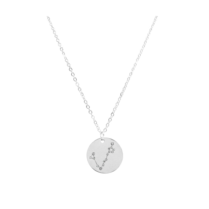 Zodiac Collection - Silver Pisces Necklace (Feb 19 - Mar 20)