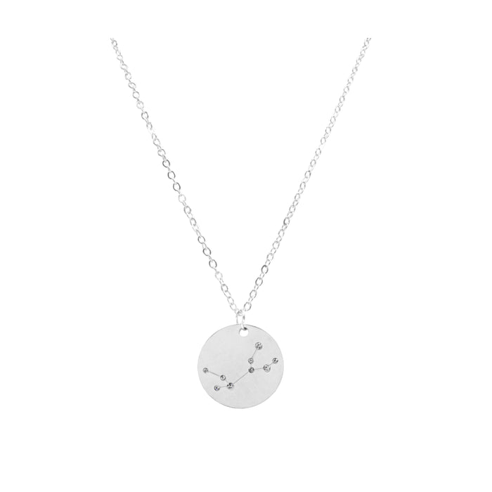 Zodiac Collection - Silver Virgo Necklace (Aug 23 - Sep 22)