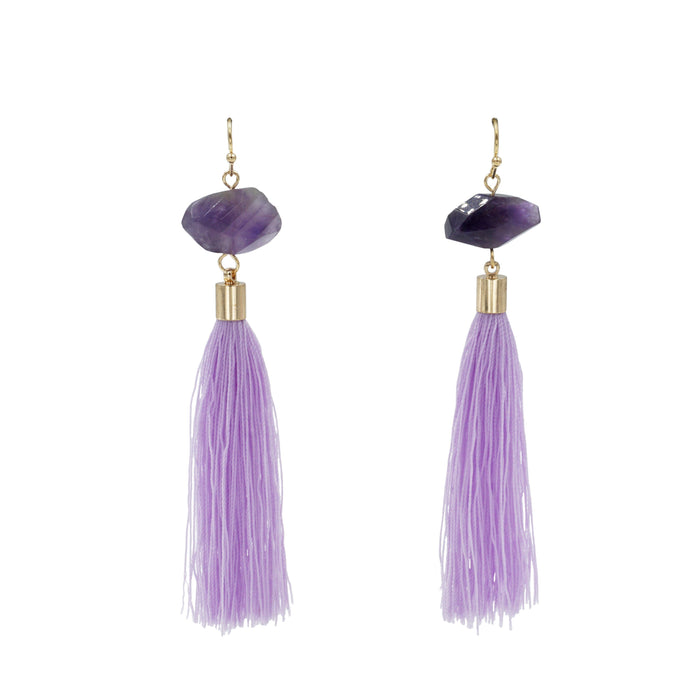 Fringe Collection - Royal Drop Earrings